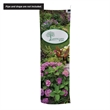 """24""""W x 72""""H Pipe and Drape Banner Kit - This banner can be hung from any standard trade show pipe and drape to make your booth stand out."""
