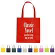 "Non-Woven Promotional Tote Bag - Non-Woven Promotional Tote Bag.  Made of 80 Gram Non-Woven, Coated Water-Resistant Polypropylene. 24"" Handles. Spot Clean/Air Dry."