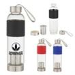 18 Oz. Infuser Glass Bottle - 18 oz. glass bottle with infuser technology