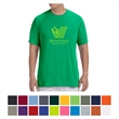 Gildan Men's Performance T-Shirt - 100% polyester jersey knit T-shirt with Aqua FX and Freshcare for moisture wicking and antimicrobial properties.