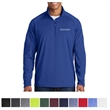 Sport-Tek Tall Sport-Wick Stretch 1/2-Zip Pullover - Tall moisture-wicking 1/2-zip pullover with soft-brushed backing and a chin guard.