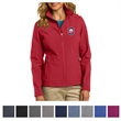 Port Authority Ladies' Core Soft Shell Jacket - Waterproof, breathable soft shell jacket for ladies made of polyester bonded to a microfleece lining.