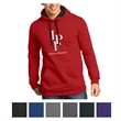 District Young Men's The Concert Fleece Hoodie - Fleece hoodie with black drawcord and hood lining and a tear-away label.