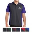 Sport-Tek Colorblock Micropique Sport-Wick Polo - 100% polyester tricot moisture-wicking polo with color blocked design.