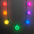 Light Globes Rainbow Party Necklace