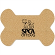 Dog Bone Cork Mat - Furry friends can be messy.