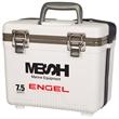 "7.5 Qt. Engel Cooler/Drybox - 11 1/2"" x 10"" x 8"" 7.5 quart cooler made of molded polypropylene copolymer with an airtight EVA gasket seal."