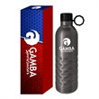 17 Oz. Arlington Hammered Stainless Steel Bottle With Cus...