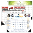 Multi-Colored 2020 Desk Calendar Pad with Vinyl Corners - Multi-Colored 2020 Desk Calendar Pad with Vinyl Corners. Perfect size planning calendar for office or home.