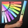 Light-Up Foam Cheer Stick - Blank or imprinted. Custom LED light up foam stick.