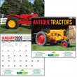 Antique Tractors 2020 Calendar - This calendar features beautifully restored tractors of yesteryear.