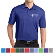 Sport-Tek Heather Contender Polo - Polo shirt made from 100% polyester jersey.