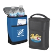 Sidekick 4-Can Cooler - Sidekick 4-Can Cooler with fully insulated main compartment, front pocket, and carrying handle