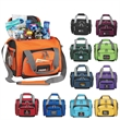 12 can convertible duffel cooler - Convertible duffel/cooler bag that holds 12 cans inside the insulated, waterproof main compartment