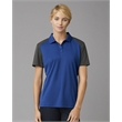 PRIM + PREUX Women's Energy Color Block Sport Shirt - Prim + Preux Women's Energy Color Block Polo