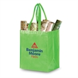 Reusable Pearl Finish Grocery Bag 12 - 80 GSM non-woven polypropylene material with laminated pearl finish