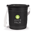 Sandbar Insulated Party Pail - Cooler with removable lid, large insulated main compartment, adjustable shoulder strap, large slip pocket and 10 can capacity.