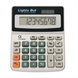 Dual Power Calculator - Solar calculator with 8 digit display, battery included, turn sound on or off.