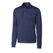CB Men's Big & Tall Stealth Half-Zip Jersey Pullover - CB Men's Stealth Half-Zip Pullover, made from 89% polyester, 11% spandex, with UPF 50+ sun protection. Moisture wicking.