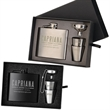 The Kenzie Flask, Shot Glass and Funnel Gift Set - The Kenzie Flask, Shot Glass and Funnel Gift Set