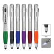 Trio Pen with LED light and Stylus - Trio Pen with LED light and Stylus.