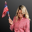 Light Up American Flags, 60 day overseas production time