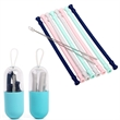 Collapsible Foldable Silicone Straw