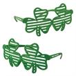 Shamrock Shutter Glasses with Custom Pad Print on Both Stems - Shamrock Shutter Glasses with Custom Pad Print on Both Stems