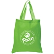 """5.5 oz. Economy Cotton Canvas Tote - 100% cotton canvas tote bag with 20"""" reinforced handles and large open main compartment."""