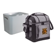 "Coleman 30 Can Soft Side Cooler with Removable Hard Liner - 13"" x 12"" x 10"" cooler that holds up to 30 cans with soft sides, hard-side liner and adjustable shoulder strap from Coleman"