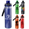 LOCKING LID 18 OZ. STRAND INSERT BOTTLE - 18 oz. refillable insulated water bottle with Strand insert Includes locking lid with lanyard BPA Free; Not recommended for dishwa