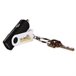"Key Chain USB Car Adaptor - 0.94"" x 2.38"" x 0.31"" USB auto adaptor key chain with input 12-24 volts and output of 5 volts/1 amp."