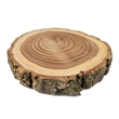 Natural Wood Log Coaster - Eco-friendly wood coaster with a round shape, made from elm logs.