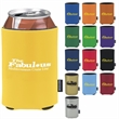 Deluxe Collapsible KOOZIE® Can Kooler - Deluxe Collapsible Can Kooler with tough, light, leather-like exterior.