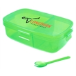 The Kiso Bento Lunch Box - The Kiso Bento Lunch Box has 2 convenient compartments (a total of 36 ounces); a large 24 ounce and a 12 ounce side compartment.