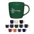 12 Oz. Cafe Mug - Ceramic cafe mug, 12 oz.