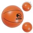"16"" Basketball Beach Ball - Orange beach ball measuring 16"" with black lines for a design resembling a basketball."