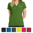 OGIO Ladies' Framework Polo - Ladies' polo made of polyester pique with a Y-neck placket, princess seams, self-fabric collar, moisture wicking, and more.