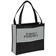 """Tucson Non-Woven Event Tote - Non-woven event tote with three slip pockets, spacious main compartment, reinforced 26"""" black handles and 5"""" gusset."""