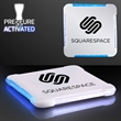 Sci-Fi Pulse Light Up Drink Coaster - Square LED drink coaster is a color-changing good time.