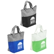 Santa Ana Insulated Snack Tote - Insulated snack tote bag with zipper closure and front pocket.