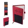 Roma Journal with Multi-Use Elastic Pocket - Journal with Multi-Use Elastic Pocket
