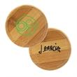 Bamboo Round Beverage Coaster - Bamboo Round Beverage Coaster