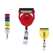 Goofy Group™ Badge Holder and Screen Cleaner - Goofy character retractable badge holder with cleaner.