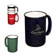 13 oz. Tall Campfire Mug - 13 oz ceramic campfire mug.