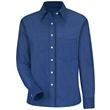Red Kap Women's Long Sleeve Oxford Dress Shirt - Extended... - Red Kap Women's Long Sleeve Oxford Dress Shirt - Extended...