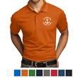 OGIO - Caliber2.0 Polo - Polo shirt made of 100% polyester pique material with Sta-Cool wicking technology, flat knit collar and three-button placket