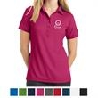 OGIO - Jewel Polo - Polo shirt for women made of 5 oz., 100% polyester pique with stay-cool wicking technology, collar and six-button placket