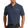 Port Authority Core Classic Pique Polo - Polo shirt made of 4.4 oz. 60/40 cotton/polyester pique with a flat knit collar and cuffs and side vents.