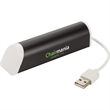 Aluminum 4-Port USB Hub & Phone Stand - Aluminum 4-Port USB Hub & Phone Stand